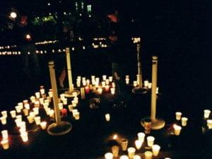 KSU May 4 memorial candlelight vigil