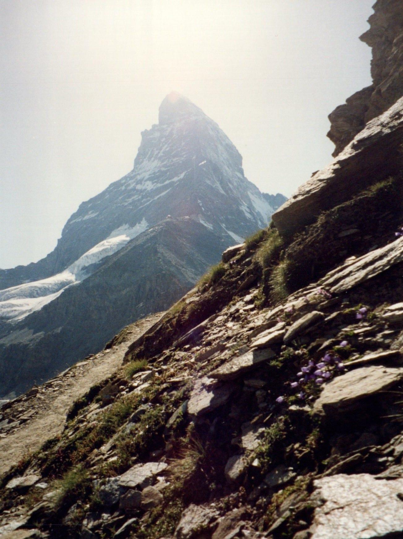 The Matterhorn On Approach