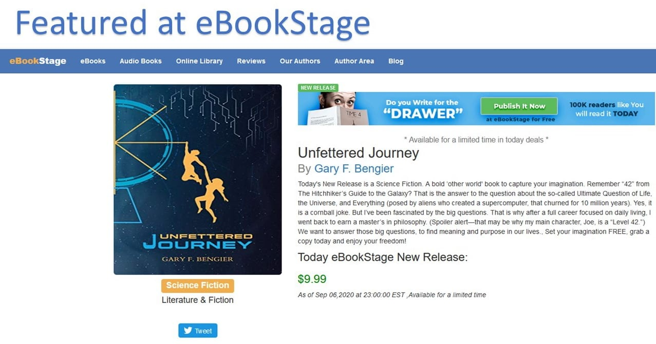 Featured at eBookStage