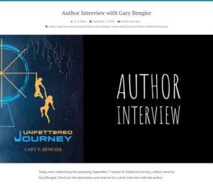 JL Gribble Author Interview 202008901