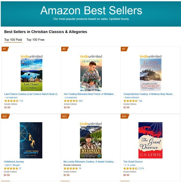 #22 Best Seller in Christian Classics & Allegories