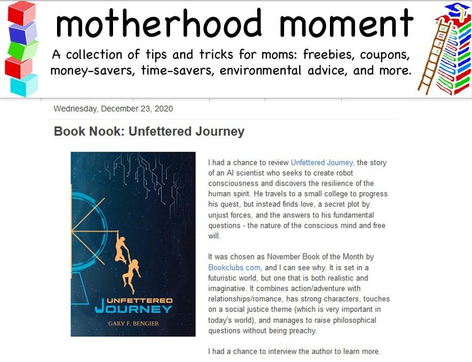 Motherhood Moment Review 20201223