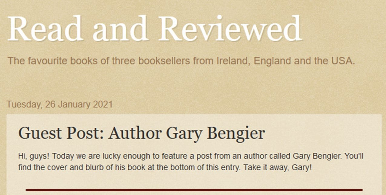 Read and Reviewed Ireland