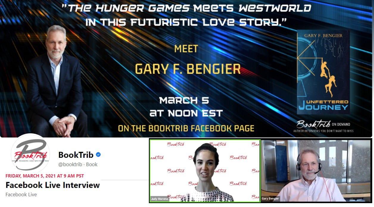 BookTrib FB Live Interview 20210305