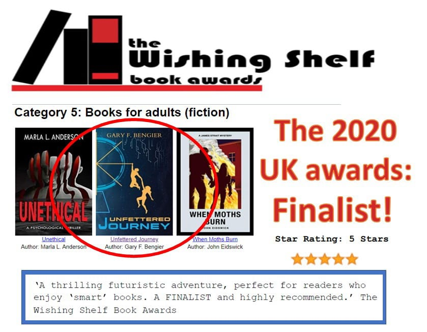 Wishing Shelf Book Awards-Finalist
