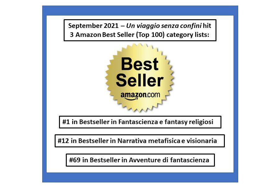 20210903-Italian Best Seller in 3 categories